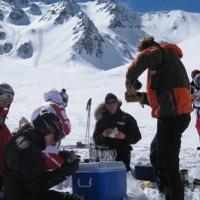 private heli ski package