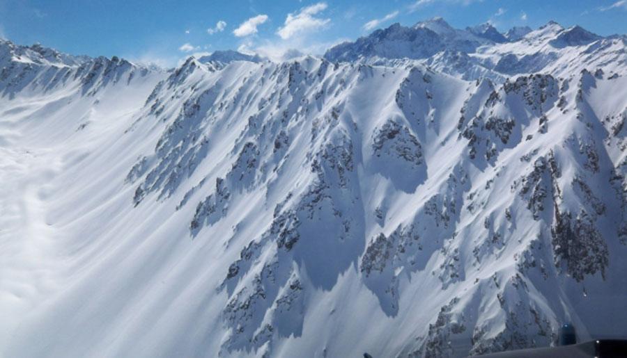 andes ski terrain