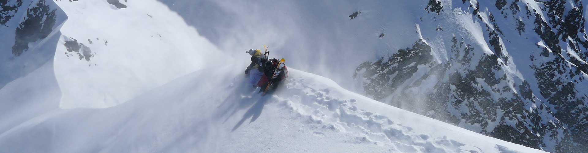 3 Days Andes Heli Ski Package – 8 People