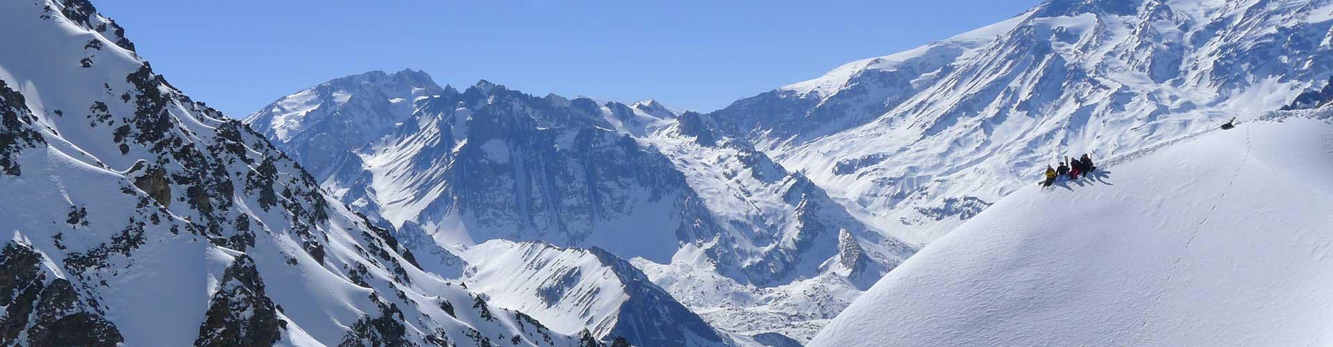 3 Days Andes Heli Ski Package – 4 People