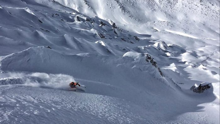 chile powder skiing