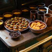 Barraco Lodge Gastronomia Cocina